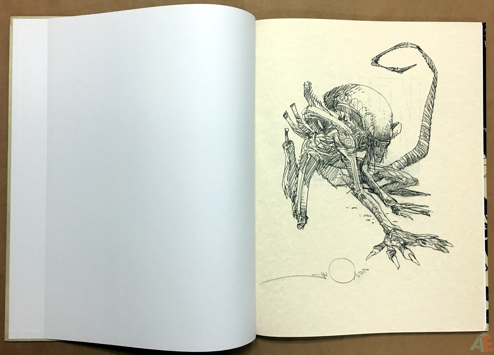 Alien: The Illustrated Story, The Original Art Edition 4