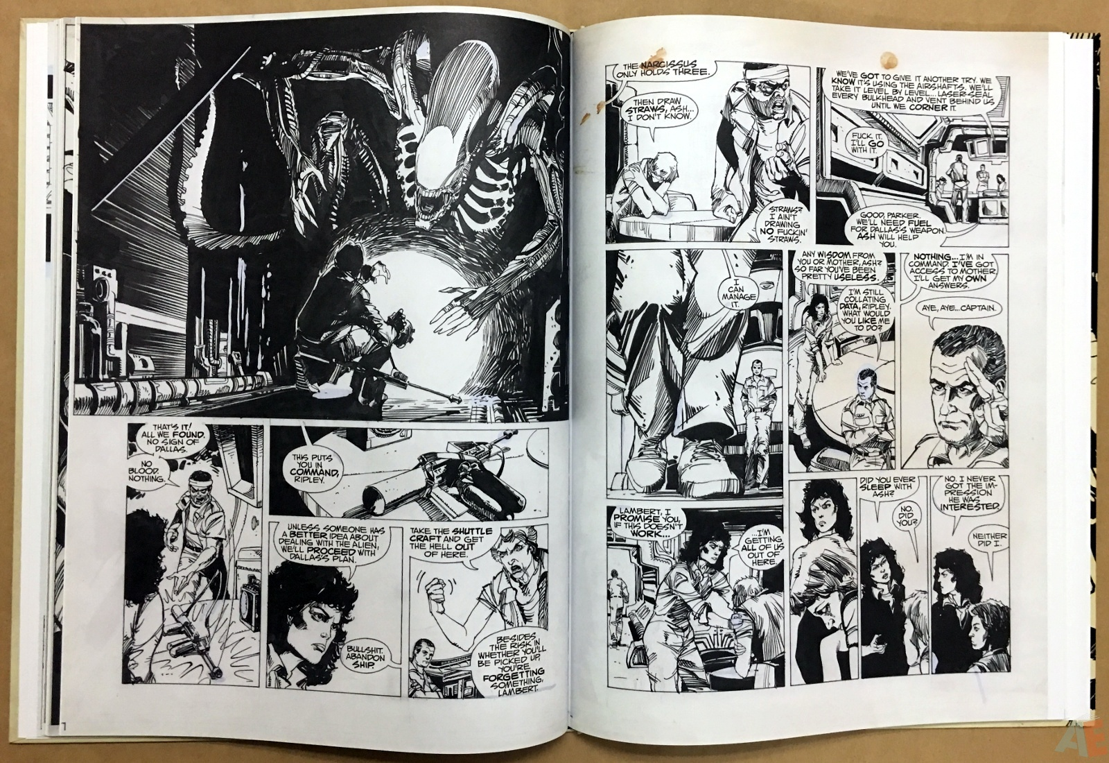 Alien: The Illustrated Story, The Original Art Edition 24
