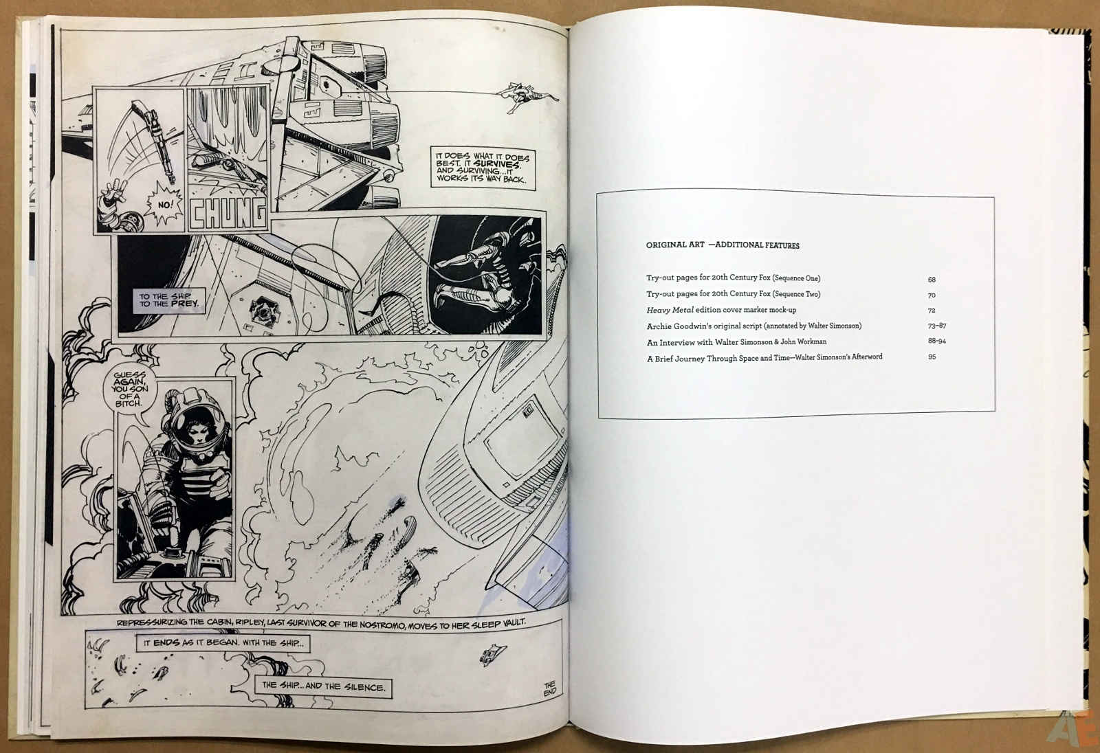Alien: The Illustrated Story, The Original Art Edition 28