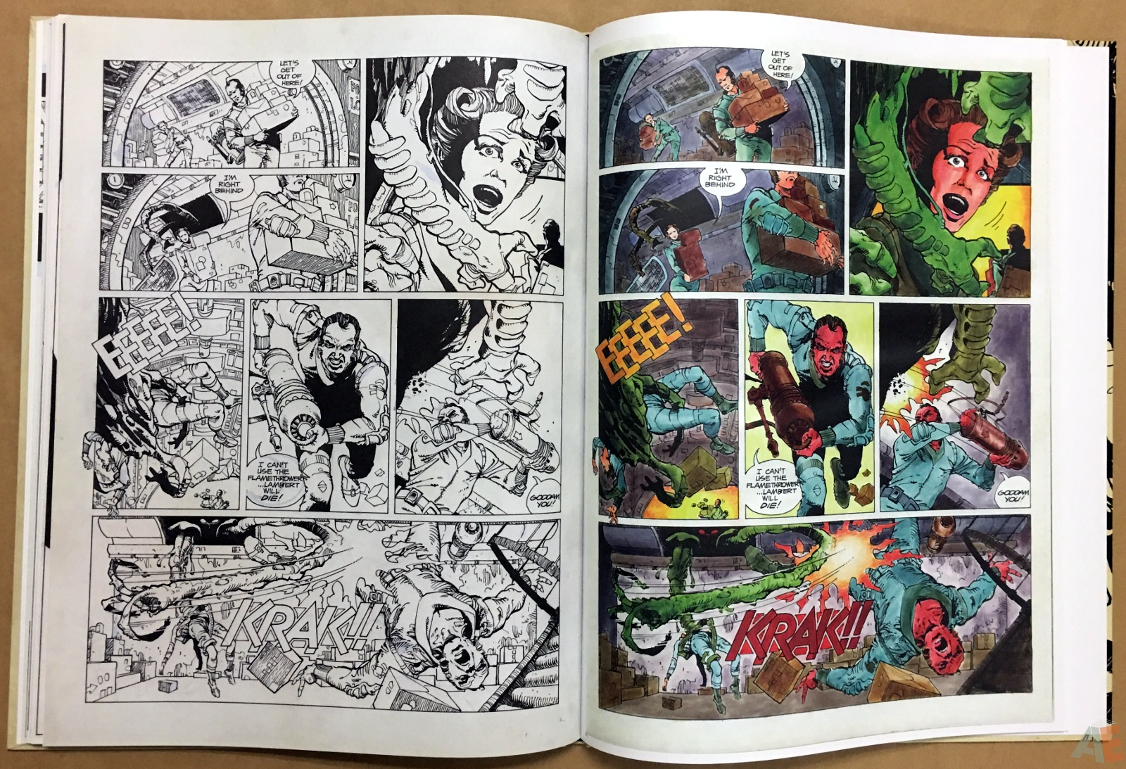 Alien: The Illustrated Story, The Original Art Edition 30