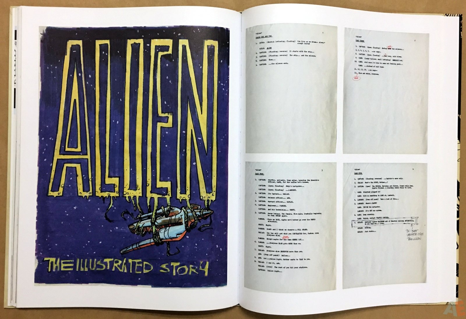 Alien: The Illustrated Story, The Original Art Edition 32