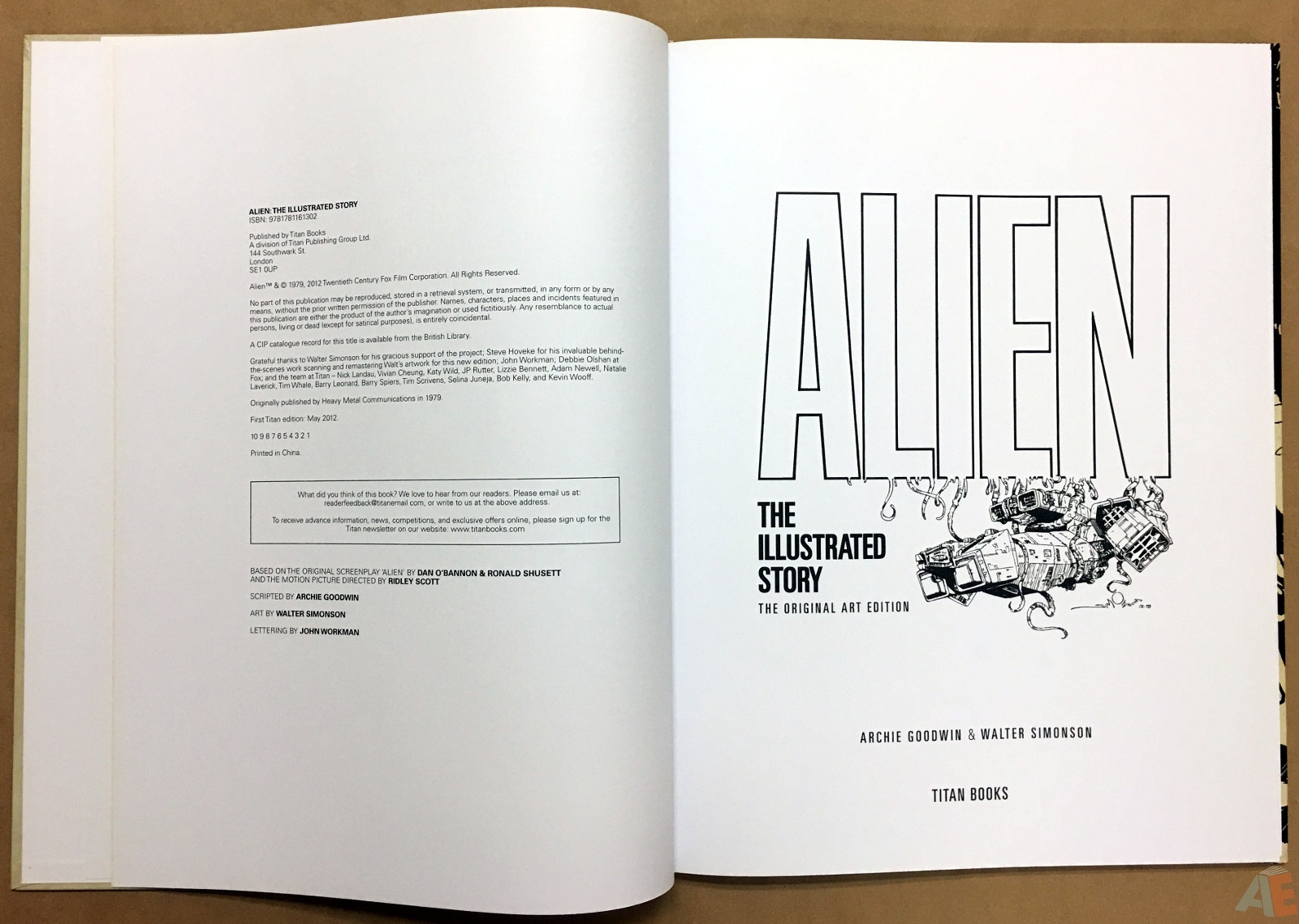 Alien: The Illustrated Story, The Original Art Edition 6