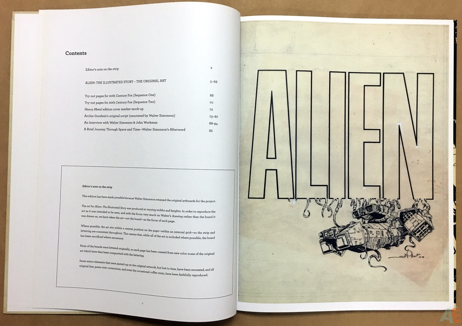 Alien: The Illustrated Story, The Original Art Edition 8