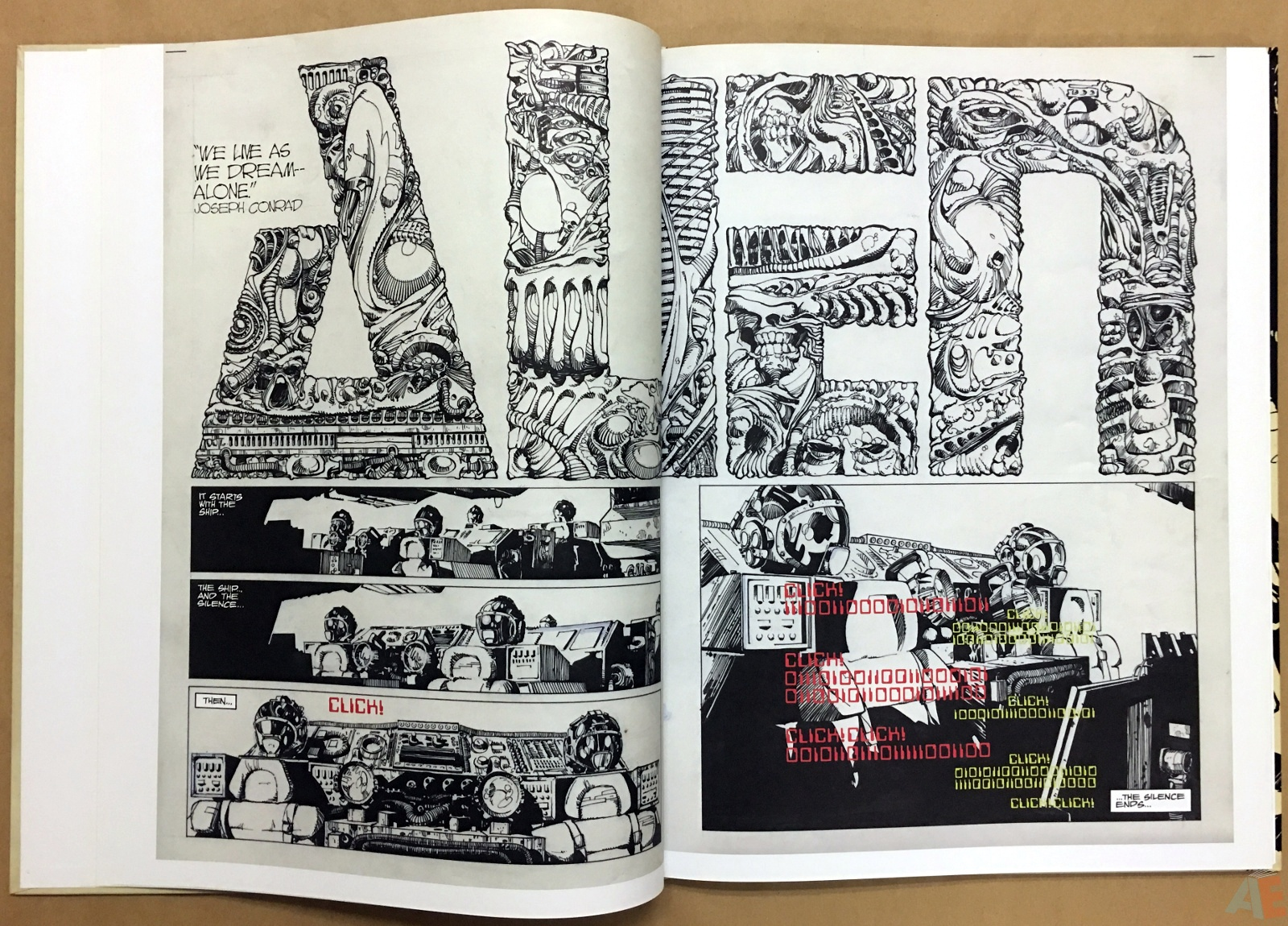 Alien: The Illustrated Story, The Original Art Edition 10