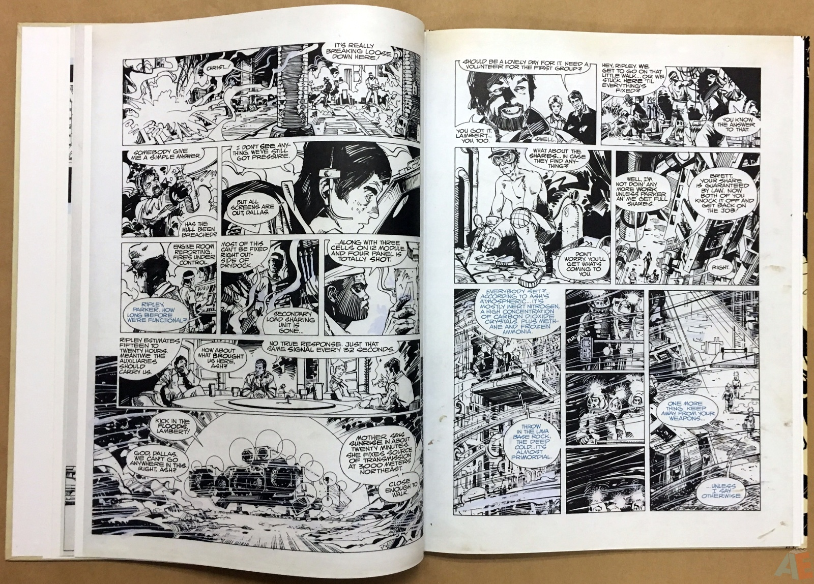 Alien: The Illustrated Story, The Original Art Edition 14