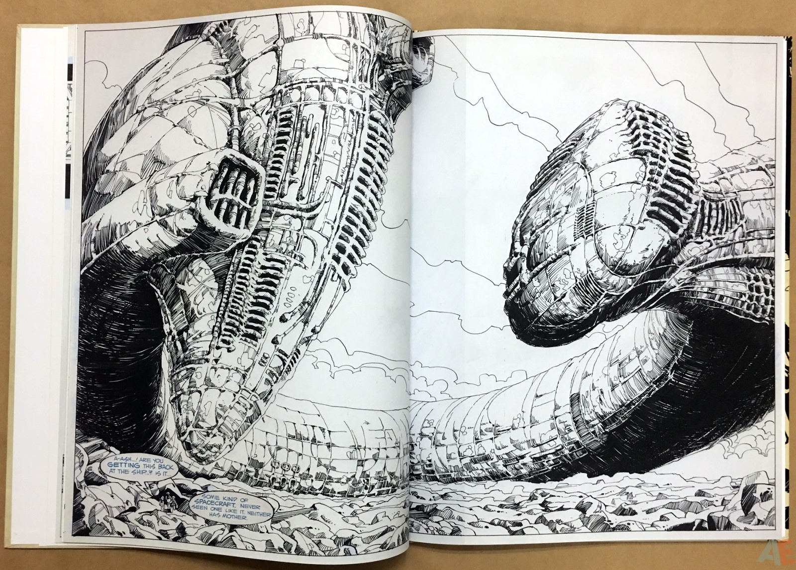 Alien: The Illustrated Story, The Original Art Edition 16