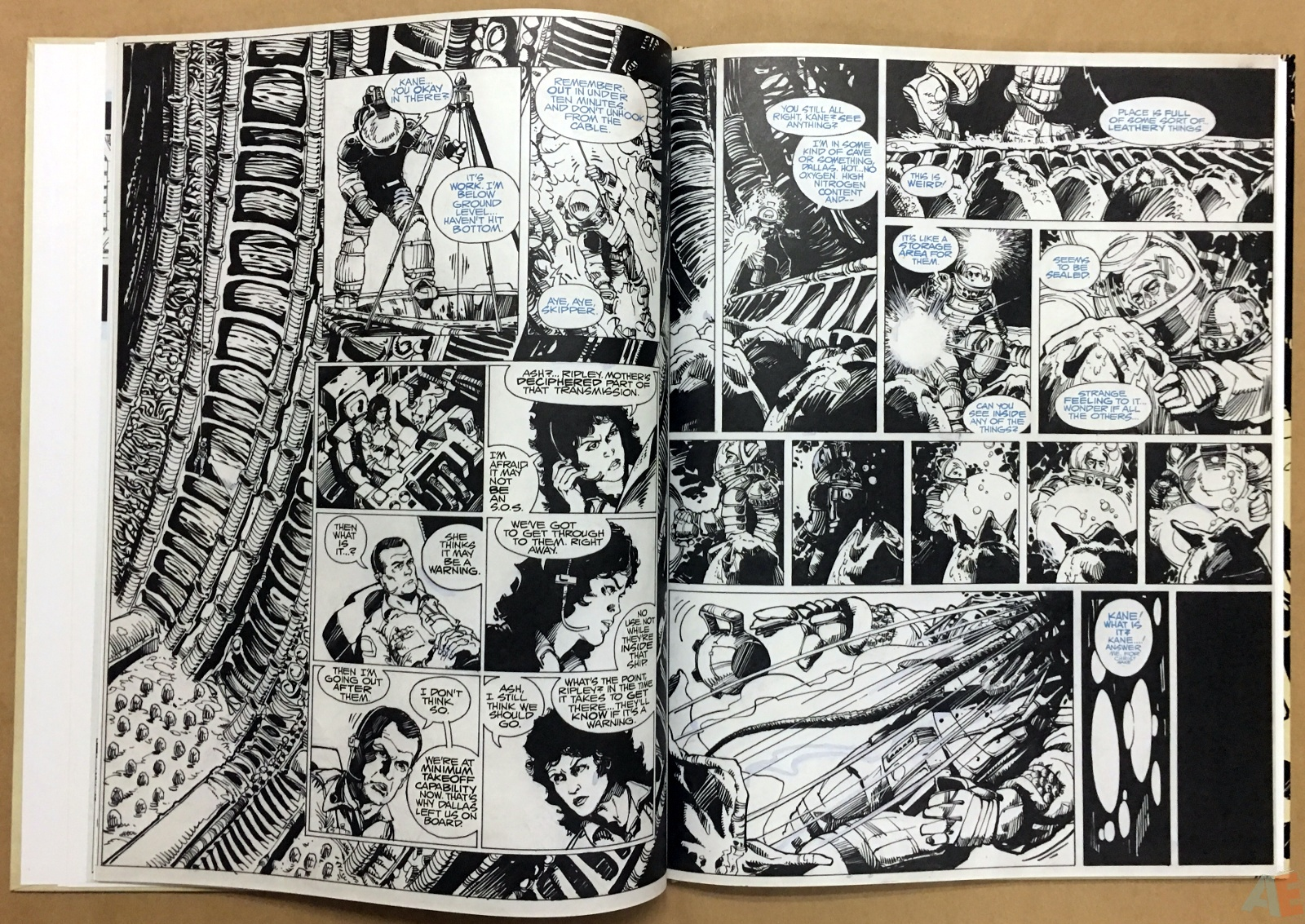 Alien: The Illustrated Story, The Original Art Edition 18