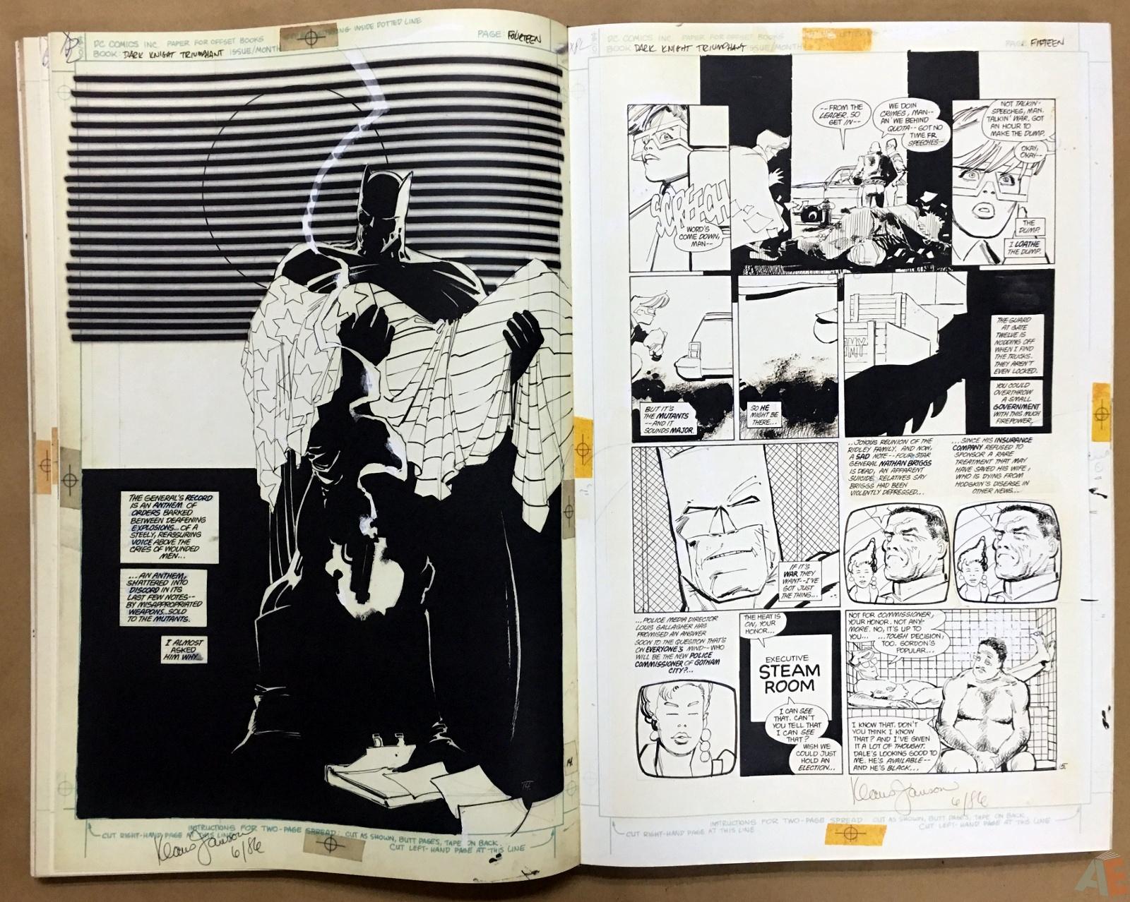 Batman: The Dark Knight Returns – Frank Miller Gallery Edition 22