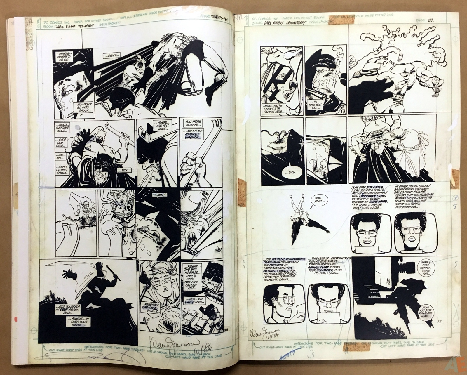 Batman: The Dark Knight Returns – Frank Miller Gallery Edition 24