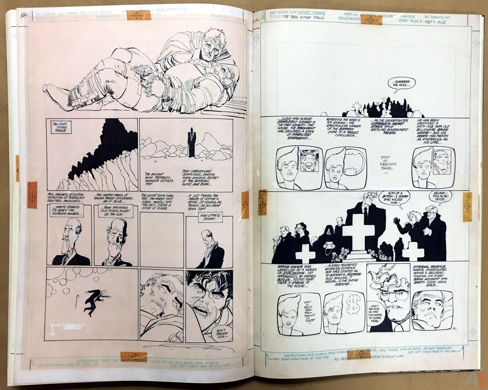 Batman: The Dark Knight Returns – Frank Miller Gallery Edition 40