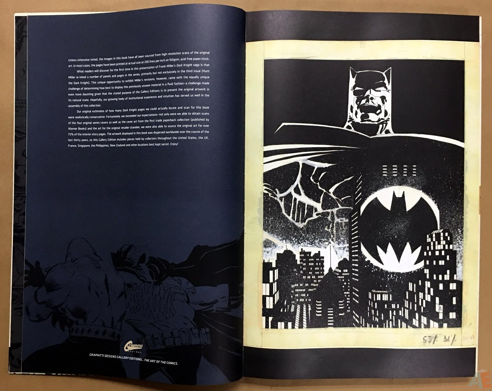 Batman: The Dark Knight Returns – Frank Miller Gallery Edition 6