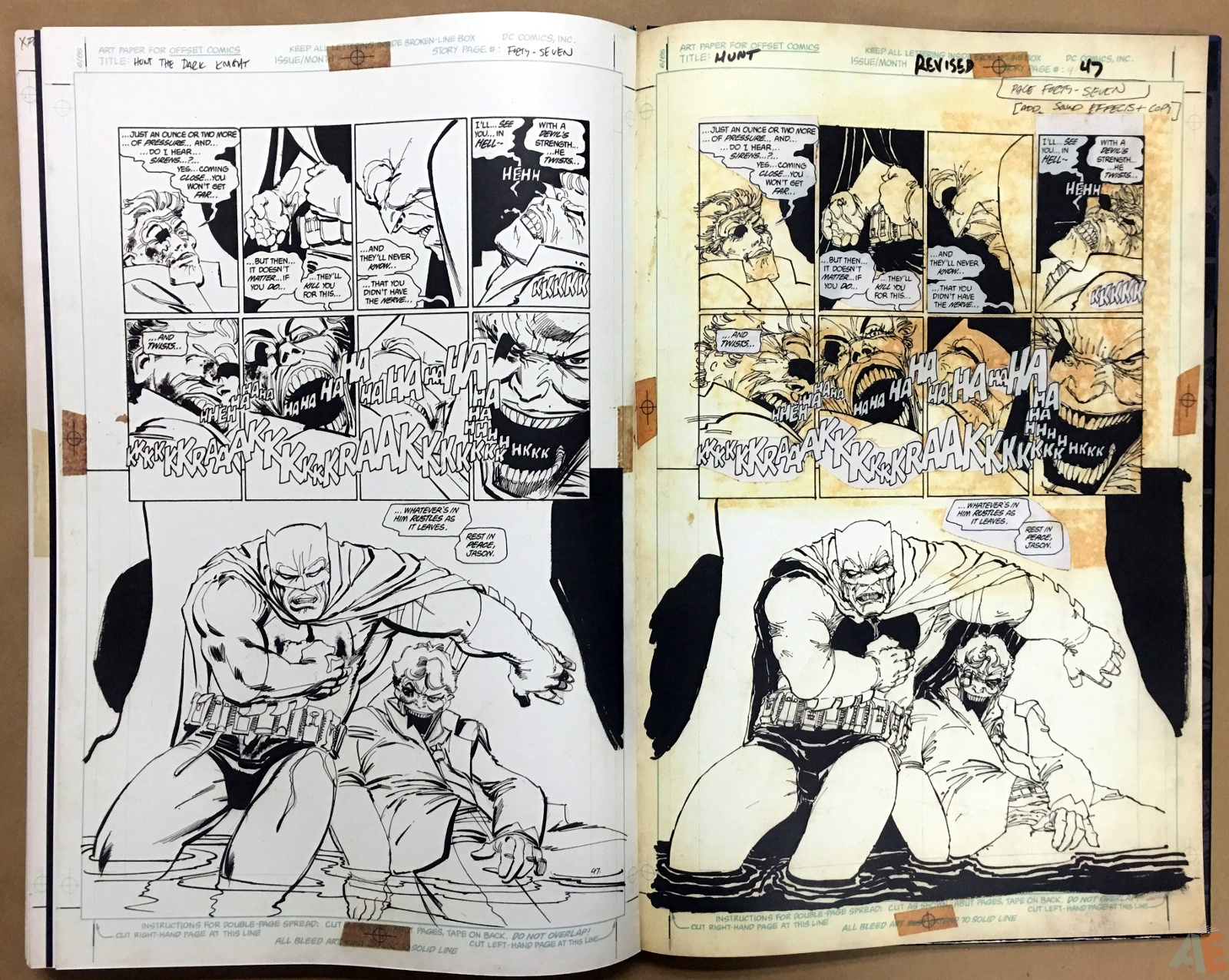 Batman: The Dark Knight Returns – Frank Miller Gallery Edition 48