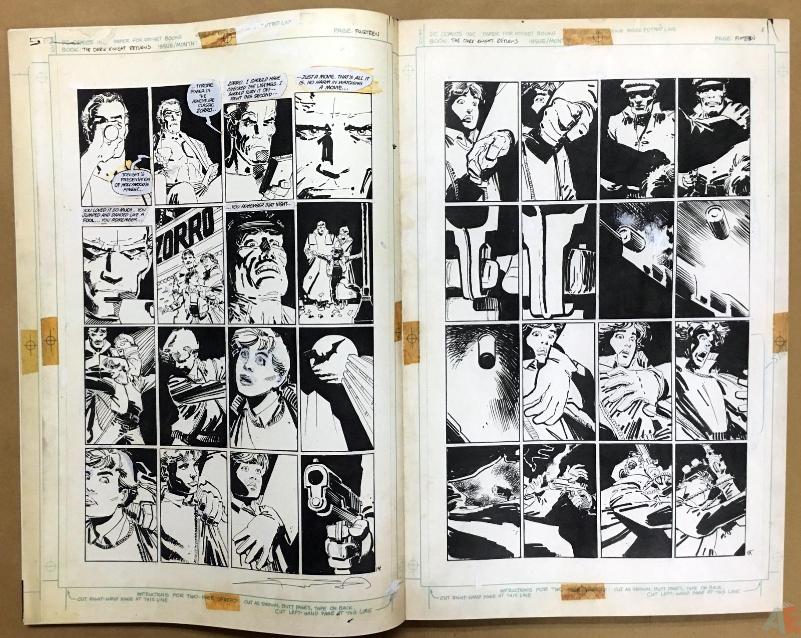 Batman: The Dark Knight Returns – Frank Miller Gallery Edition 8