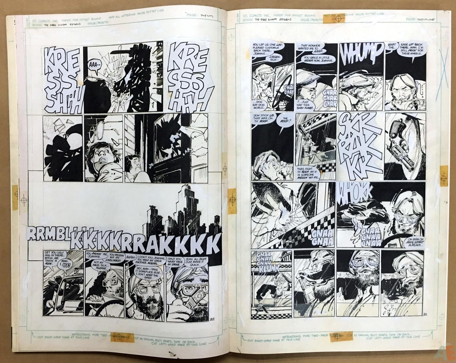 Batman: The Dark Knight Returns – Frank Miller Gallery Edition 10