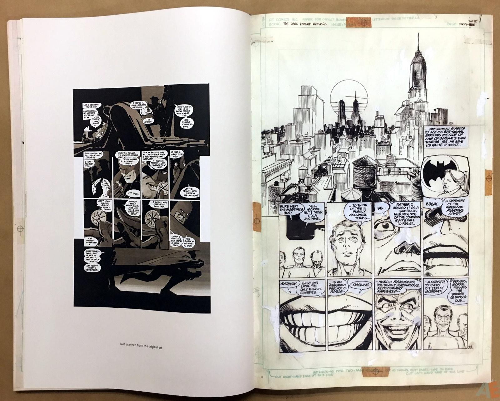 Batman: The Dark Knight Returns – Frank Miller Gallery Edition 12