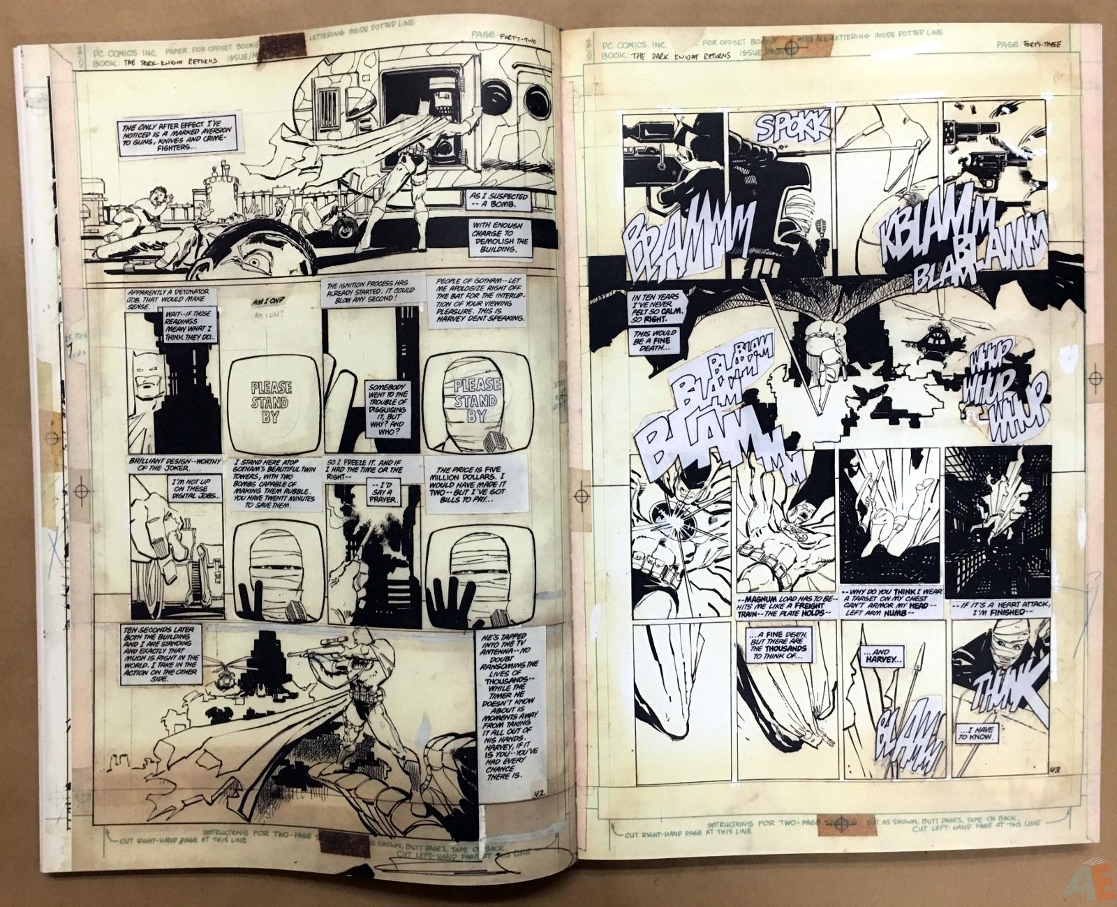 Batman: The Dark Knight Returns – Frank Miller Gallery Edition 14