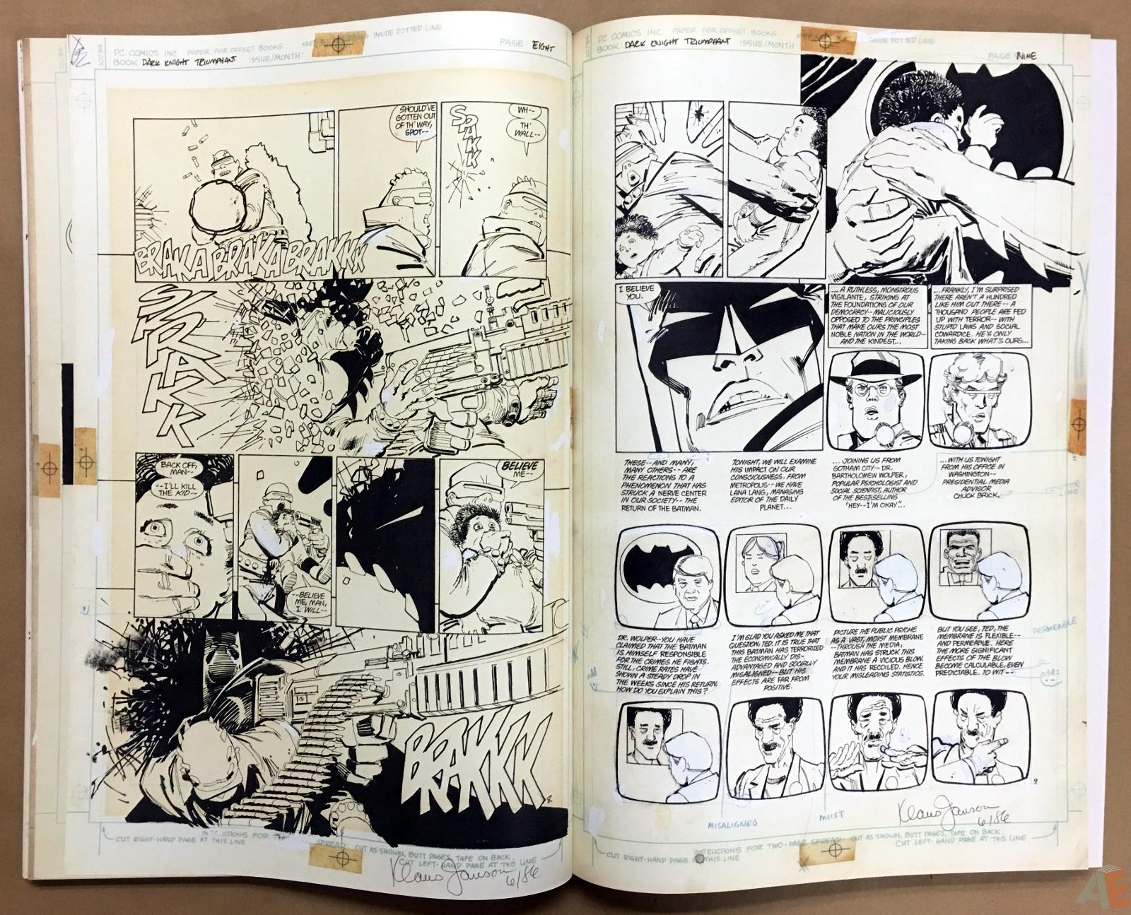 Batman: The Dark Knight Returns – Frank Miller Gallery Edition 18