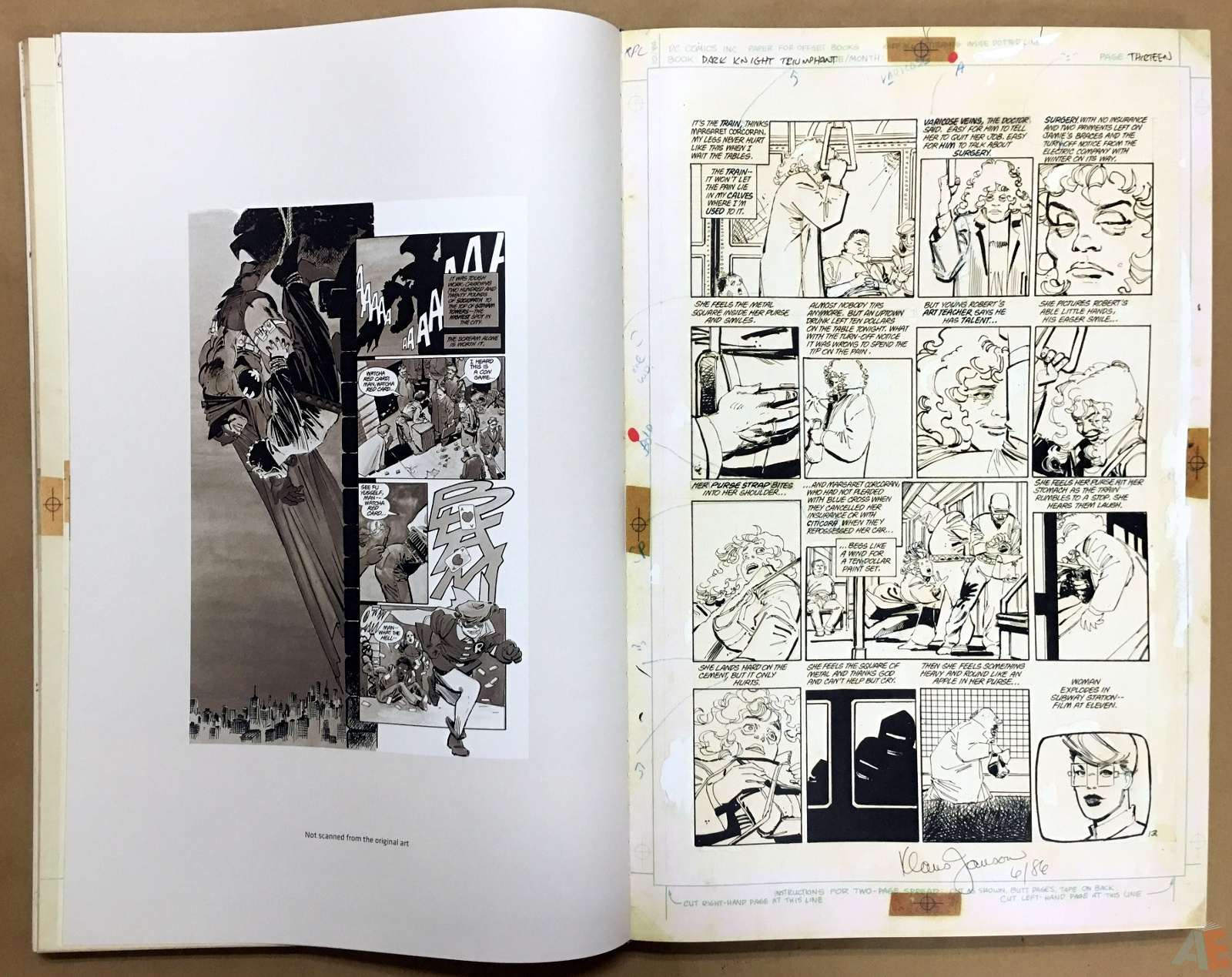 Batman: The Dark Knight Returns – Frank Miller Gallery Edition 20