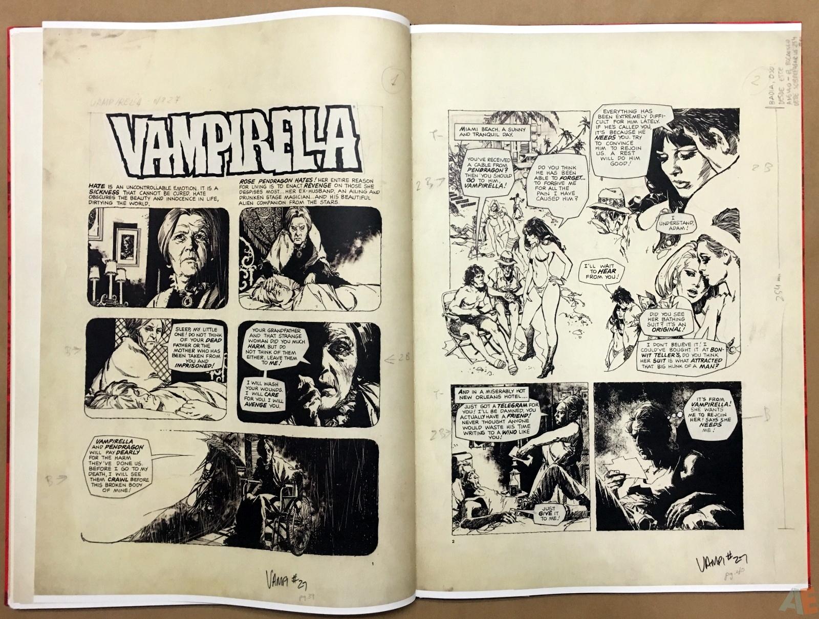 Jose Gonzalez's Vampirella Art Edition Vol 1 30