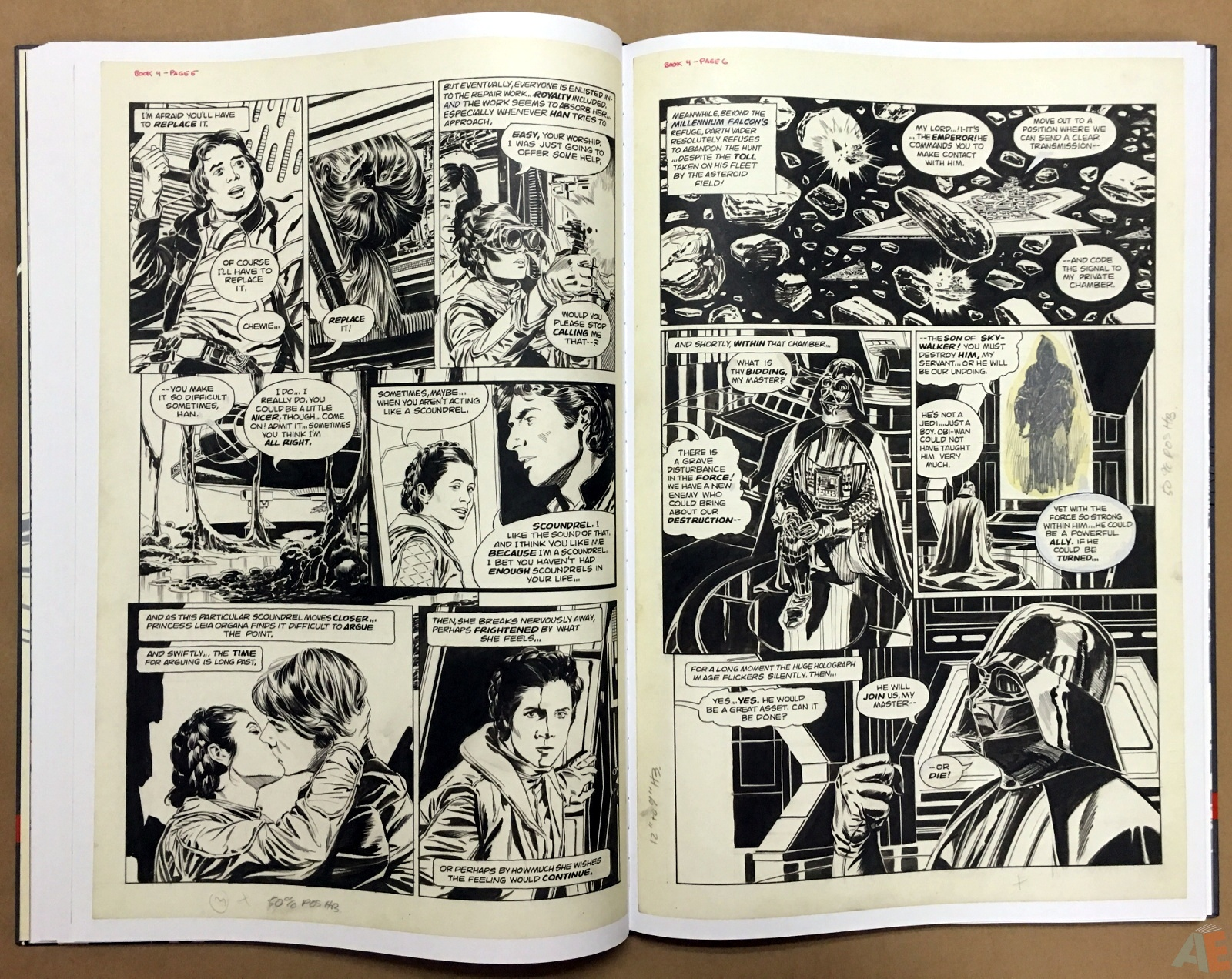 Al Williamson's Star Wars: The Empire Strikes Back Artist's Edition 22