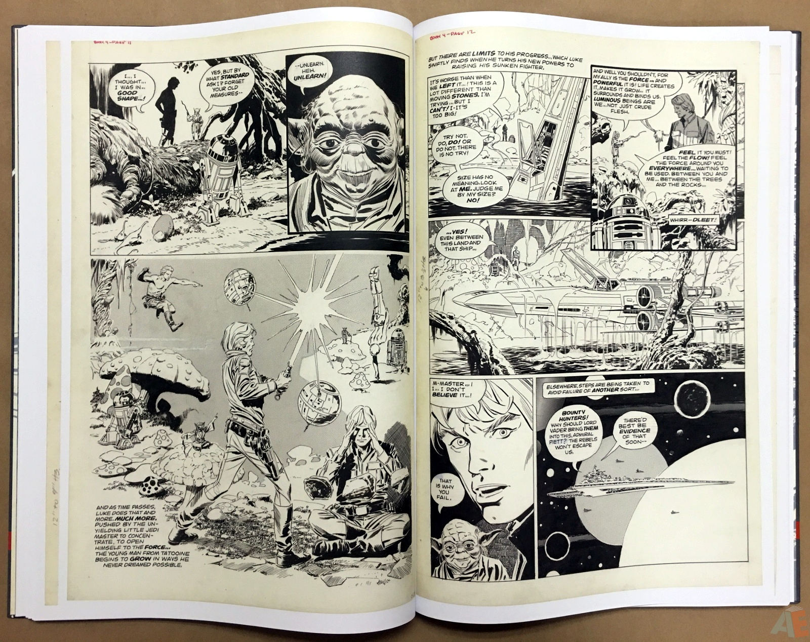 Al Williamson's Star Wars: The Empire Strikes Back Artist's Edition 24