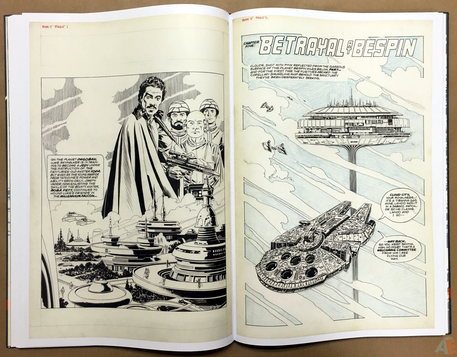 Al Williamson's Star Wars: The Empire Strikes Back Artist's Edition 26