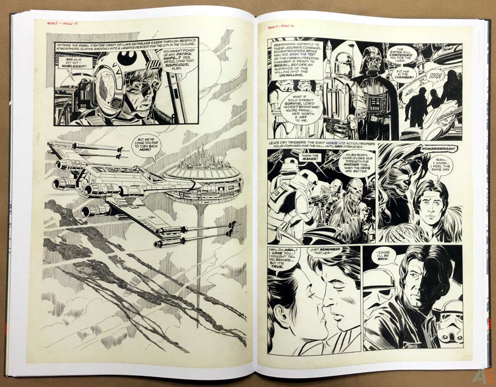 Al Williamson's Star Wars: The Empire Strikes Back Artist's Edition 30