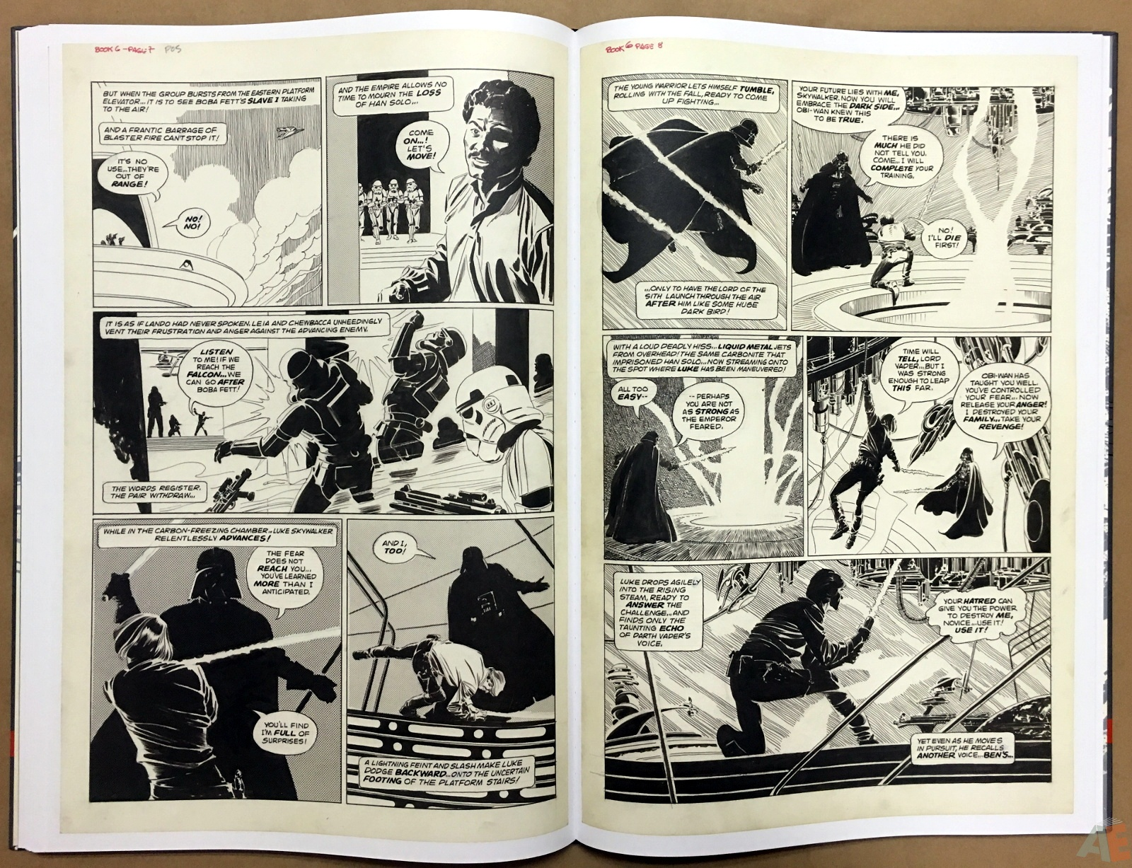 Al Williamson's Star Wars: The Empire Strikes Back Artist's Edition 32