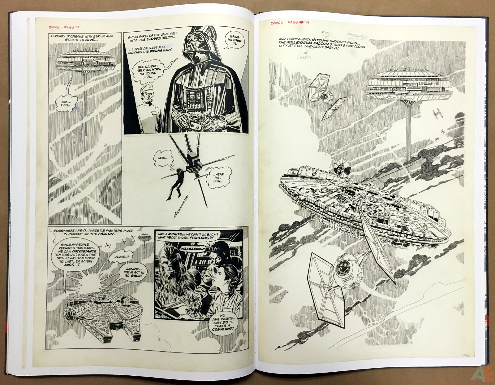 Al Williamson's Star Wars: The Empire Strikes Back Artist's Edition 34