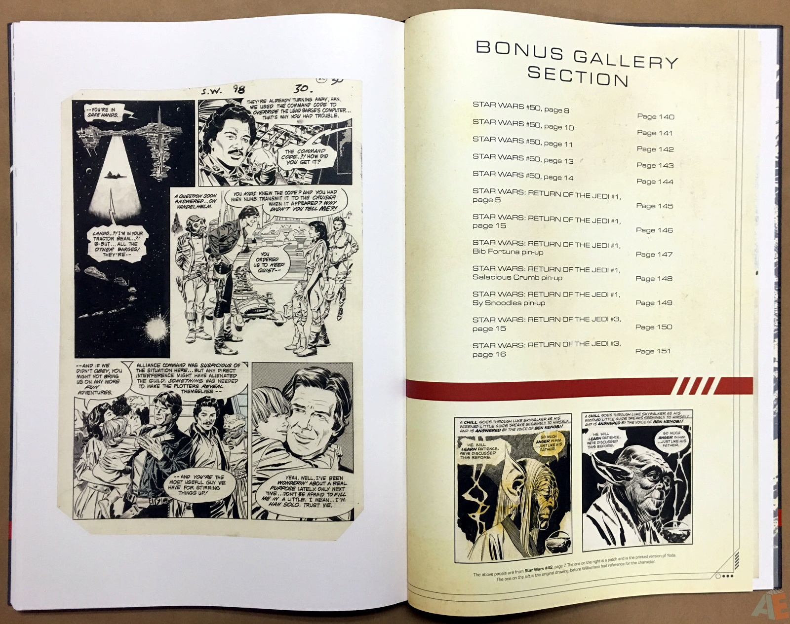 Al Williamson's Star Wars: The Empire Strikes Back Artist's Edition 44