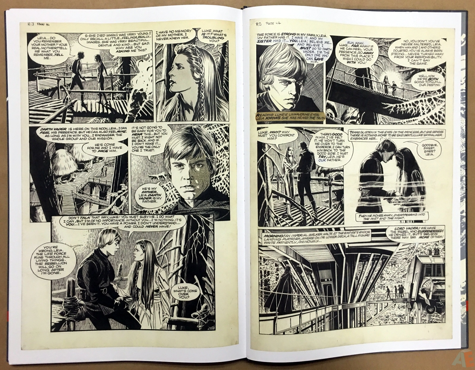 Al Williamson's Star Wars: The Empire Strikes Back Artist's Edition 50