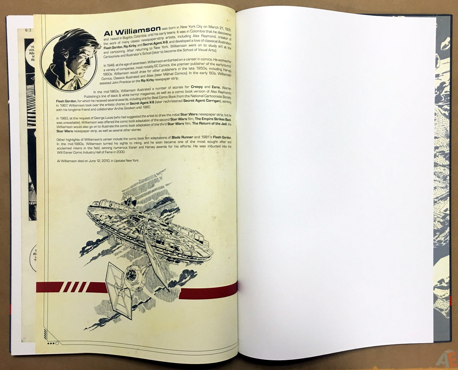 Al Williamson's Star Wars: The Empire Strikes Back Artist's Edition 52