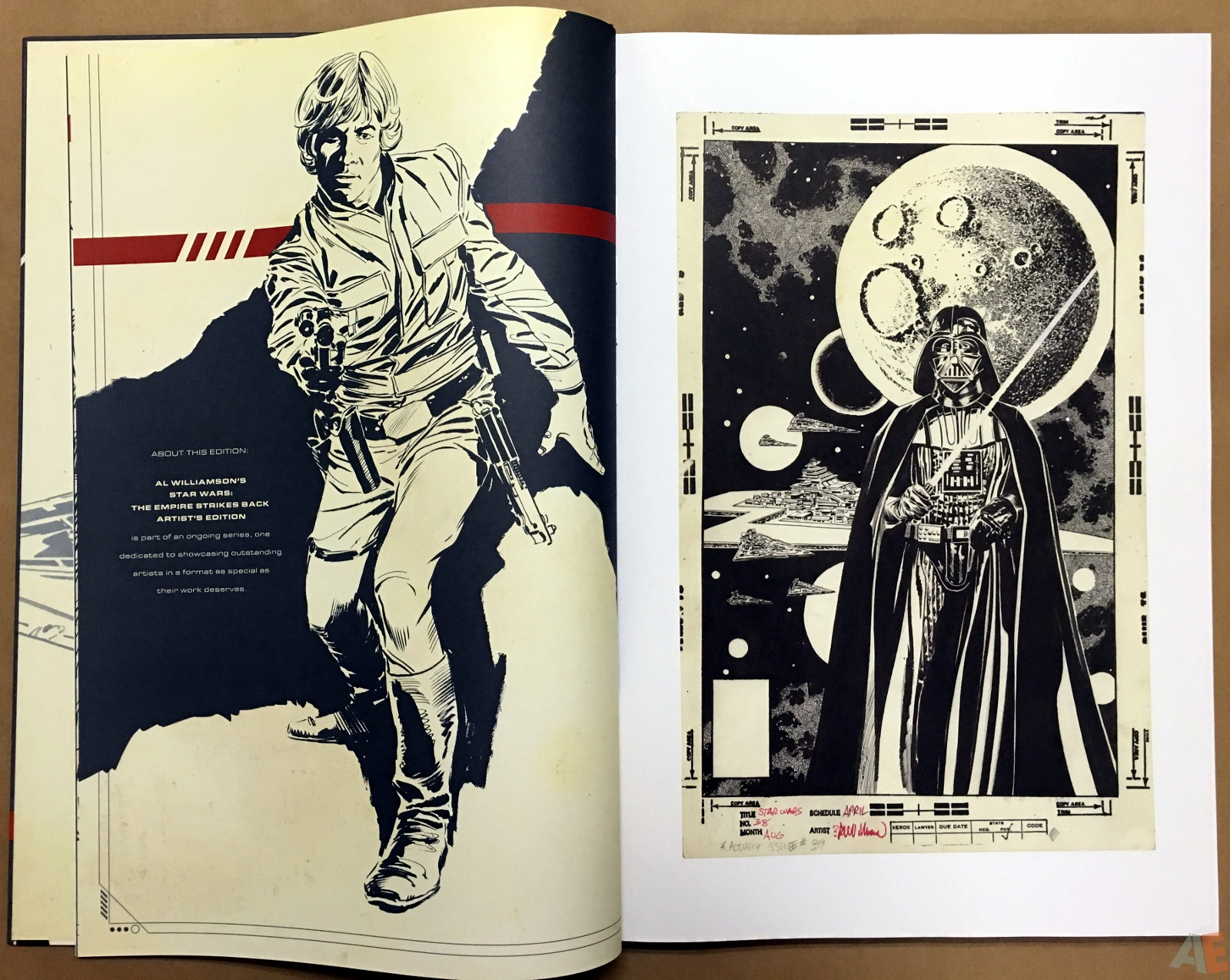 Al Williamson's Star Wars: The Empire Strikes Back Artist's Edition 8