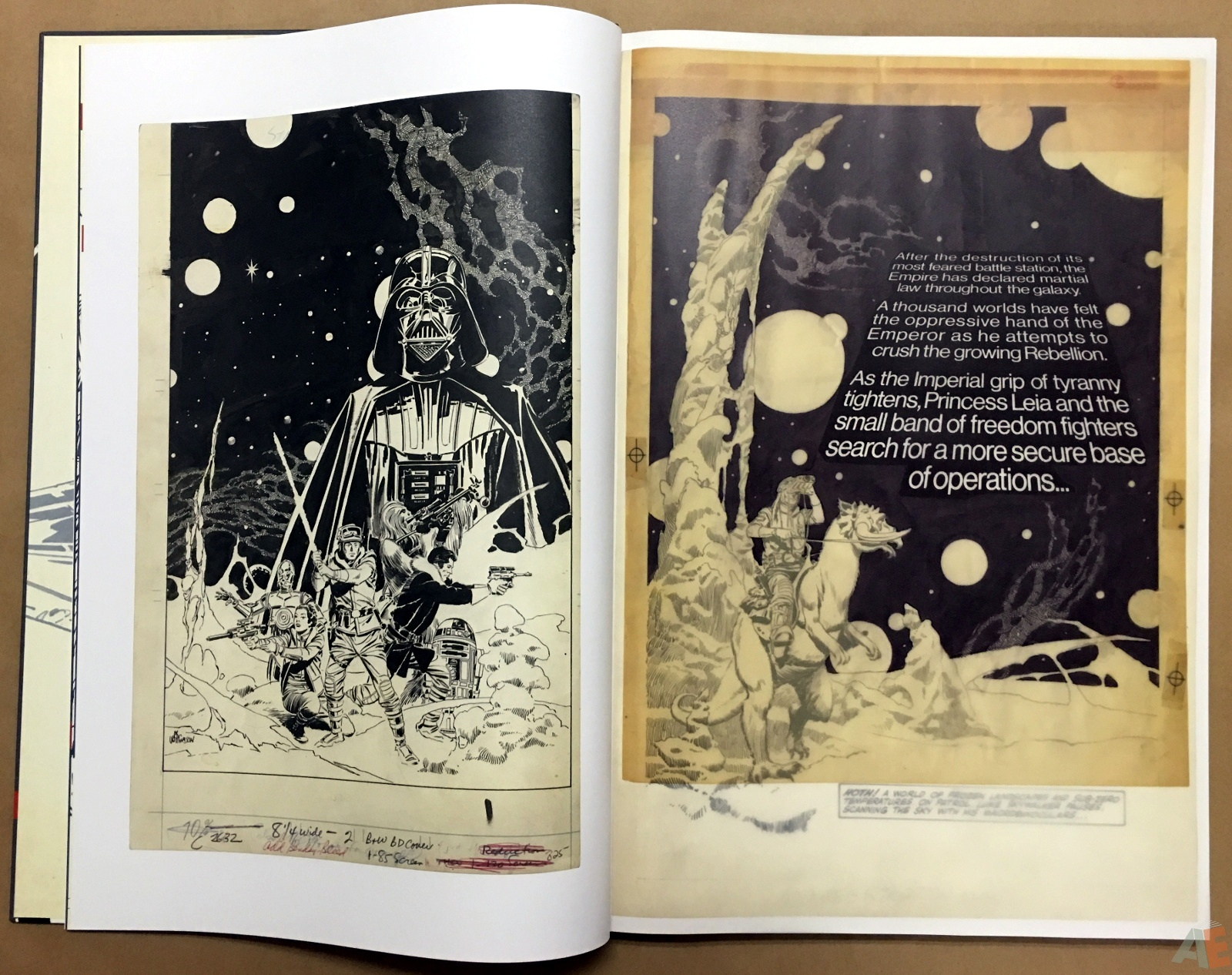Al Williamson's Star Wars: The Empire Strikes Back Artist's Edition 10