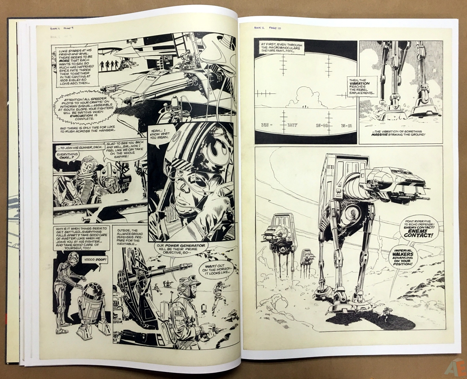 Al Williamson's Star Wars: The Empire Strikes Back Artist's Edition 14