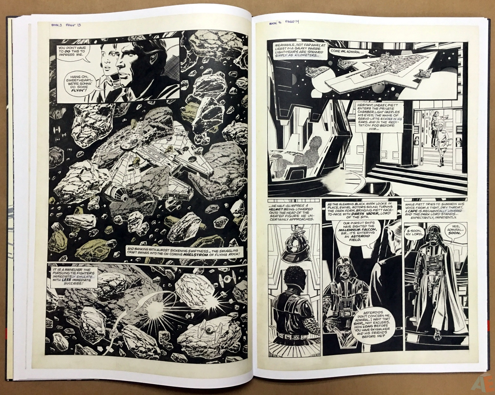 Al Williamson's Star Wars: The Empire Strikes Back Artist's Edition 18