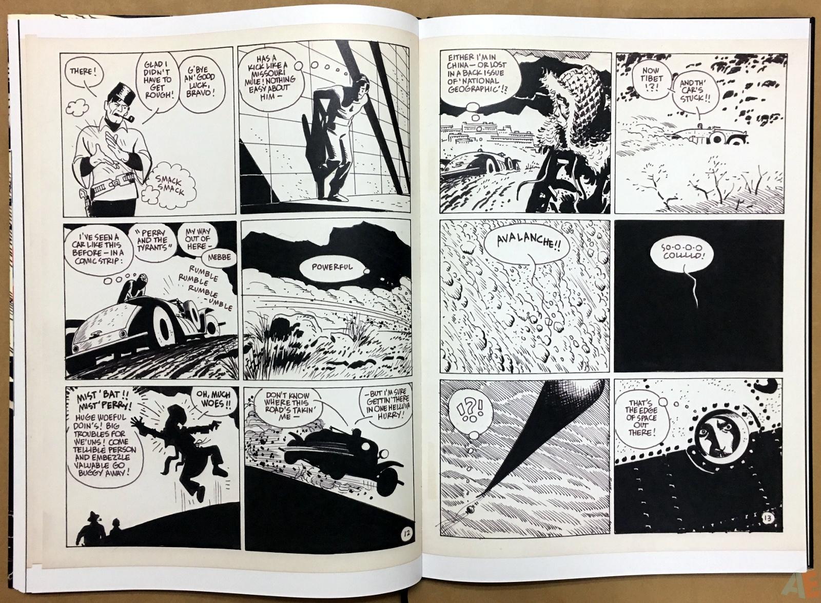 Alex Toth's Bravo For Adventure Artist's Edition 22