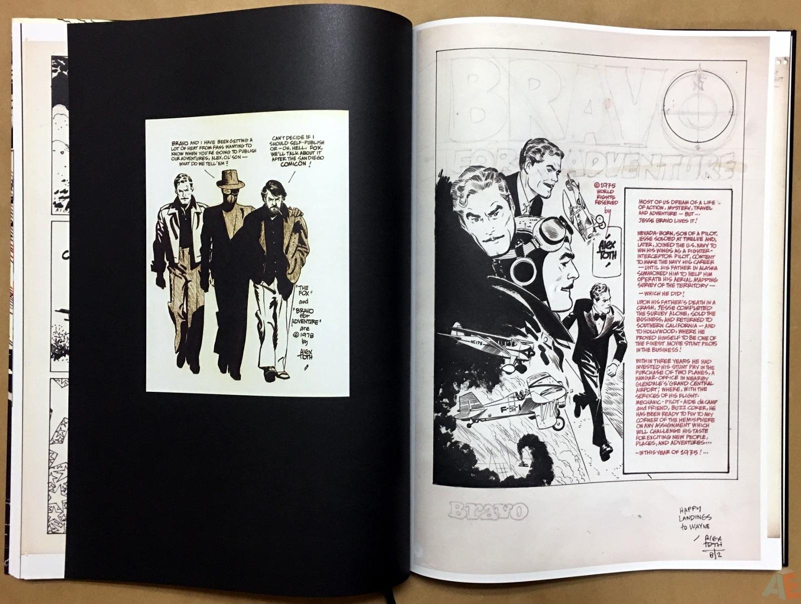 Alex Toth's Bravo For Adventure Artist's Edition 24
