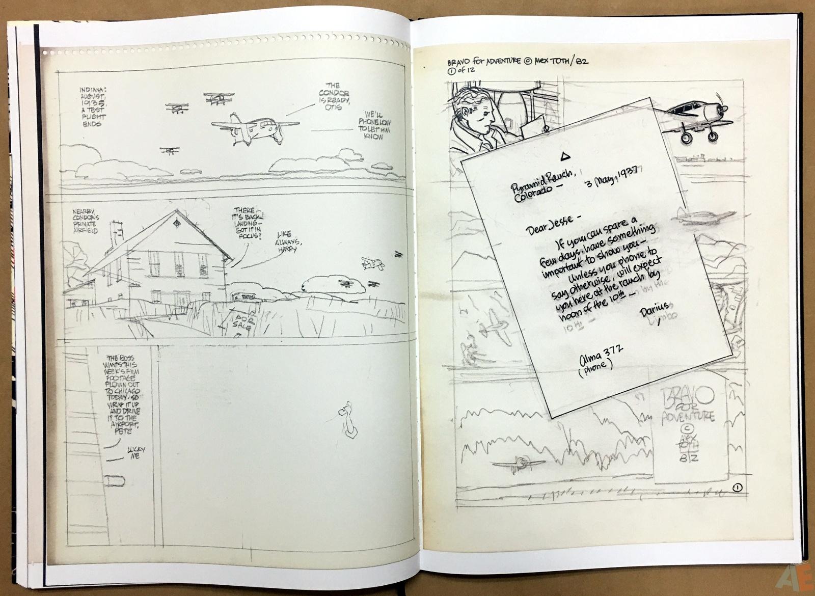 Alex Toth's Bravo For Adventure Artist's Edition 26