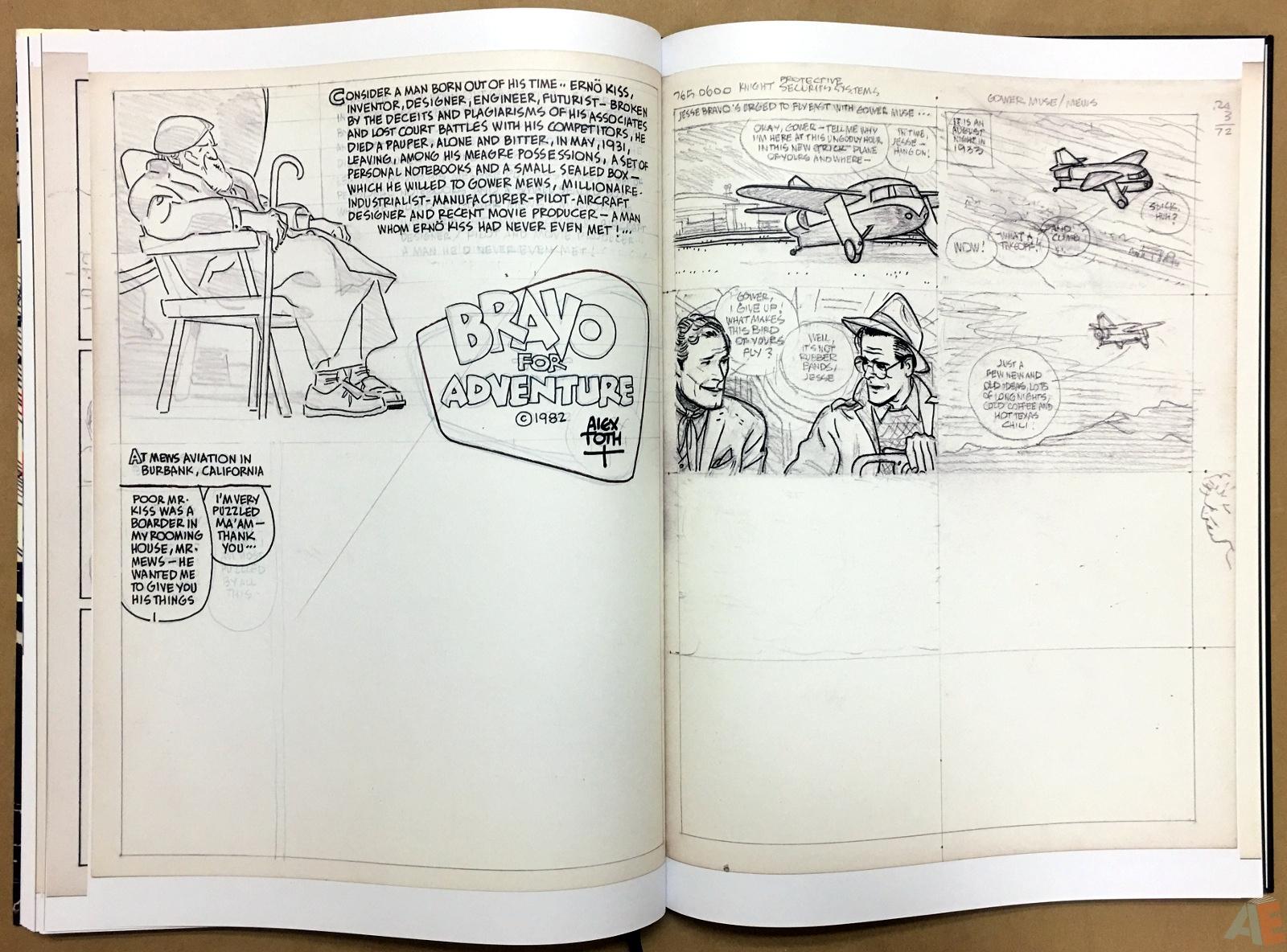 Alex Toth's Bravo For Adventure Artist's Edition 28