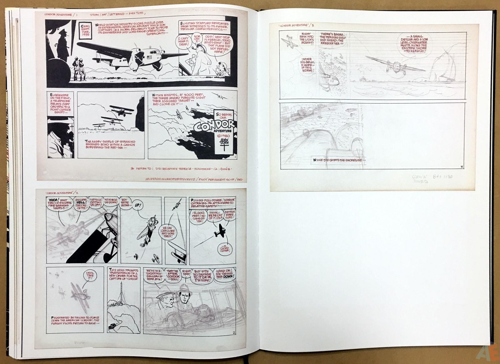 Alex Toth's Bravo For Adventure Artist's Edition 32