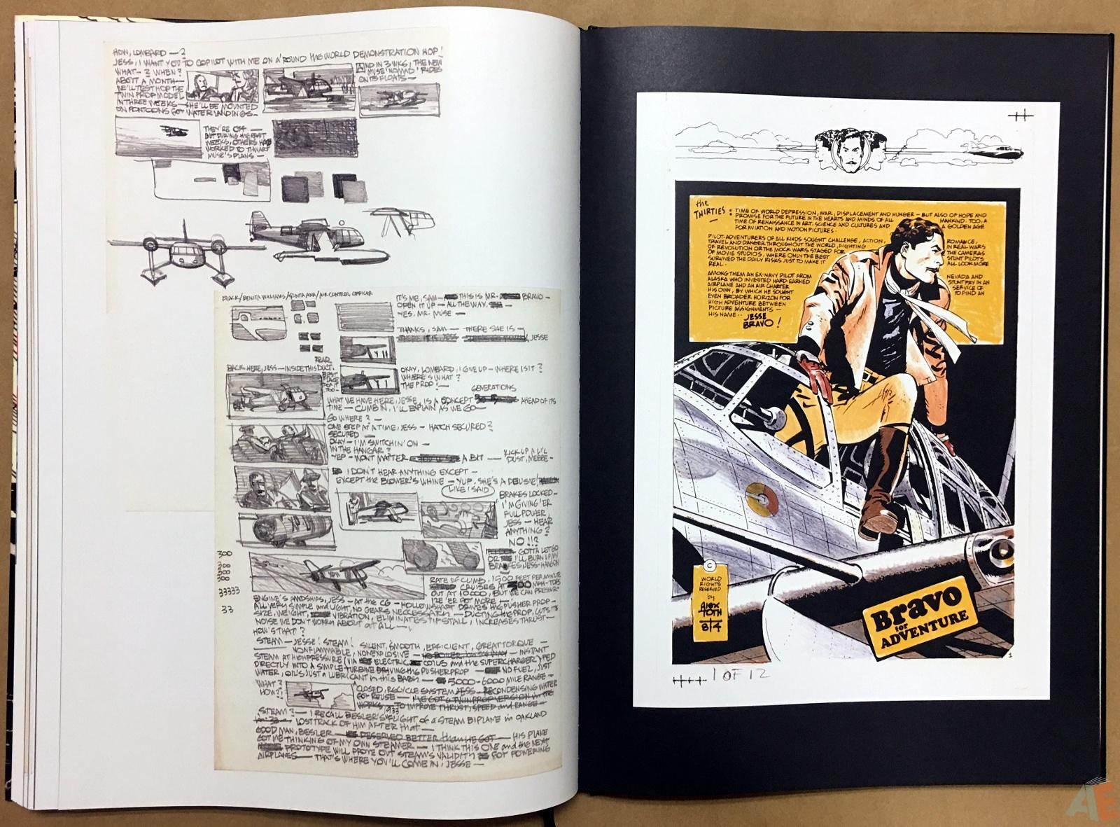 Alex Toth's Bravo For Adventure Artist's Edition 34