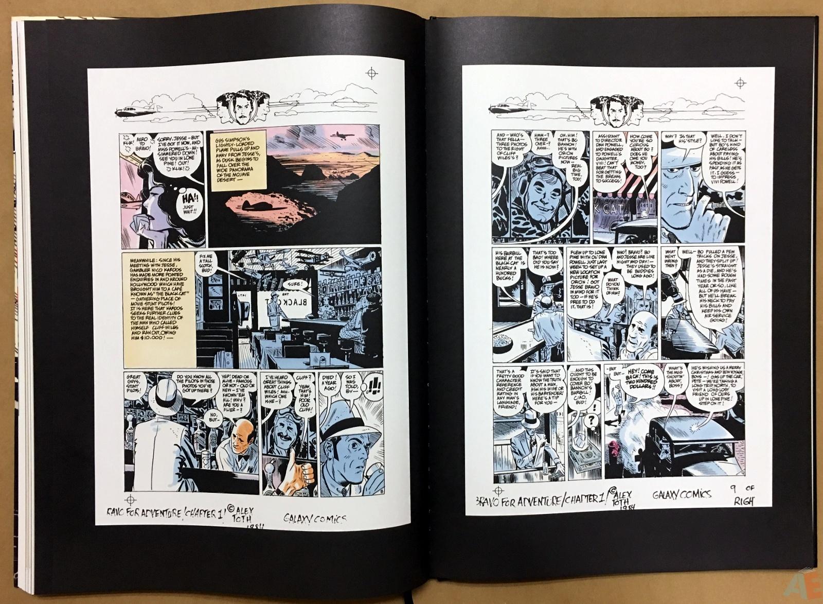 Alex Toth's Bravo For Adventure Artist's Edition 38