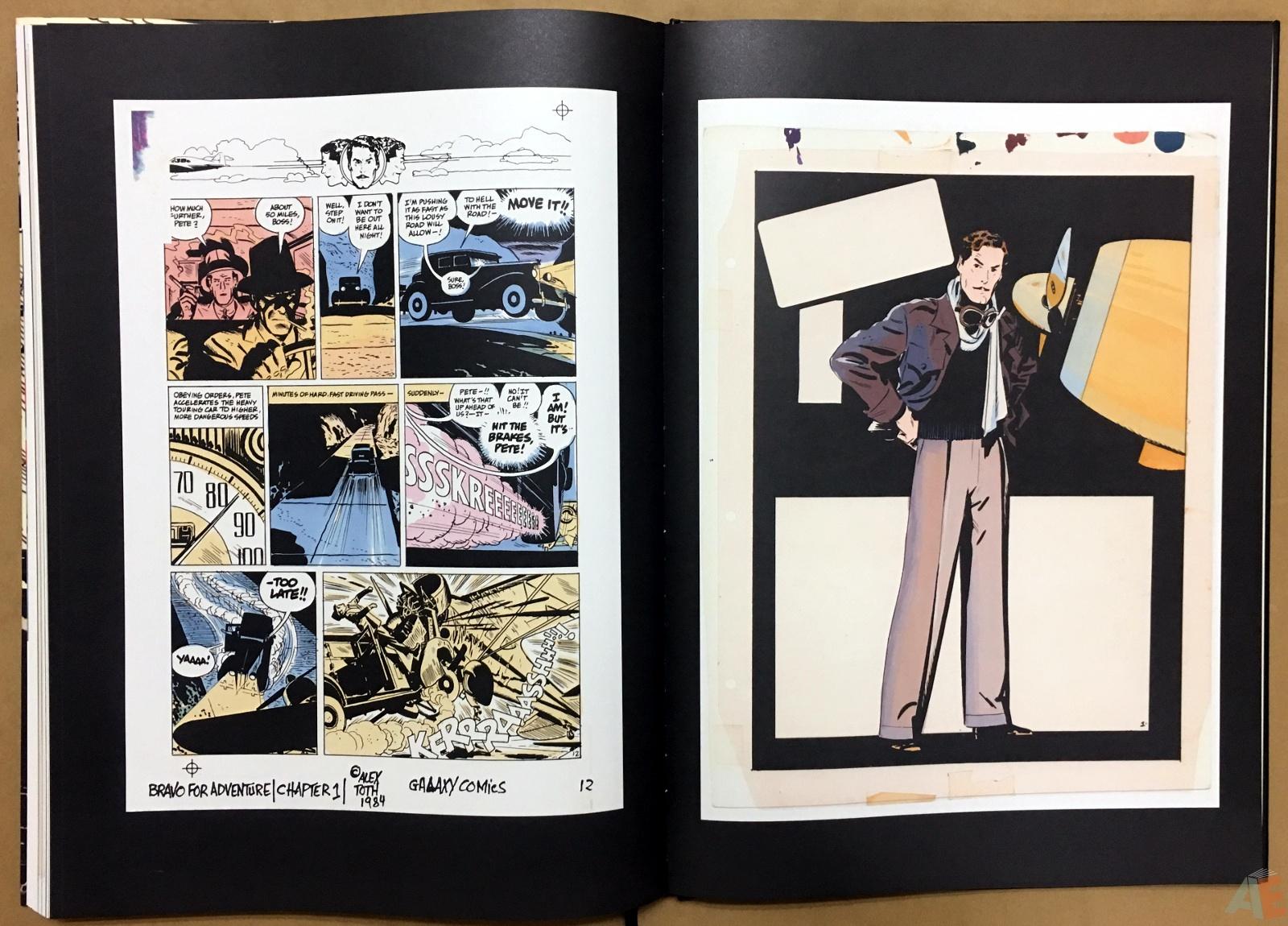Alex Toth's Bravo For Adventure Artist's Edition 40