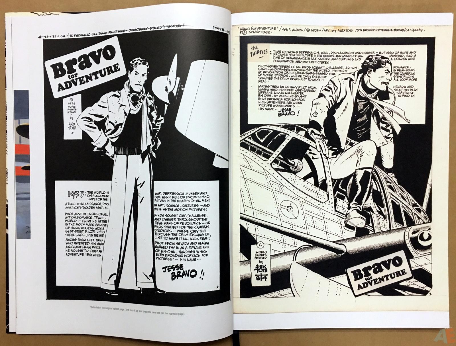 Alex Toth's Bravo For Adventure Artist's Edition 6