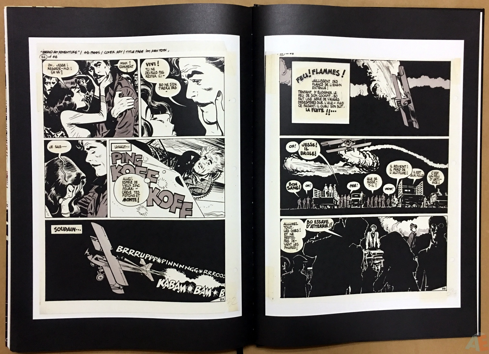 Alex Toth's Bravo For Adventure Artist's Edition 46