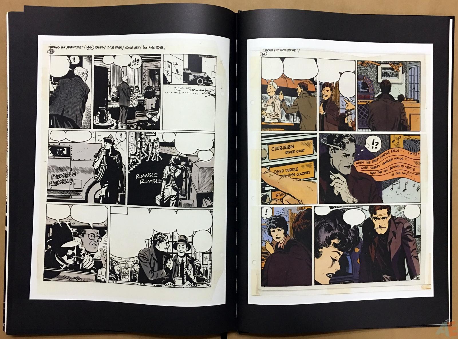 Alex Toth's Bravo For Adventure Artist's Edition 48