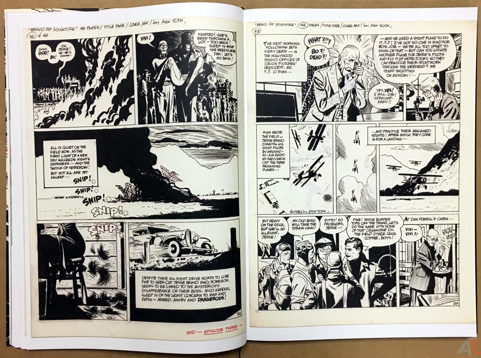 Alex Toth's Bravo For Adventure Artist's Edition 14