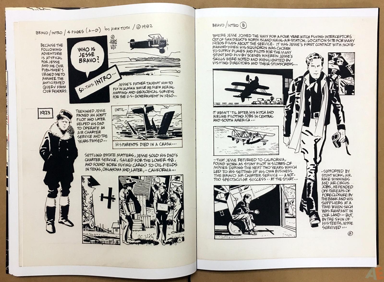 Alex Toth's Bravo For Adventure Artist's Edition 18