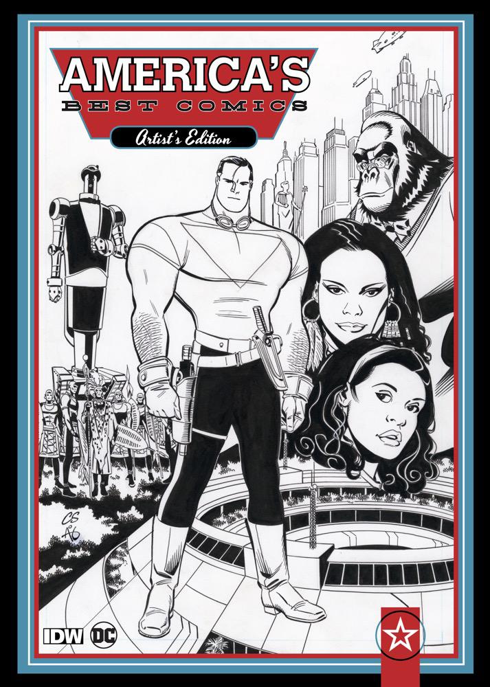 america s best comics artist s edition artist s edition index
